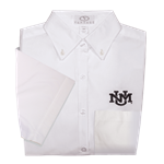 Men's Vantage Short-Sleeved Button Down White