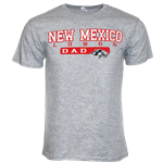 Men's CI Sport T-shirt NM Lobos Dad Gray