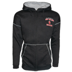 Men's Ouray Sportswear Zip Hood Jacket UNM Medicine Paw Black