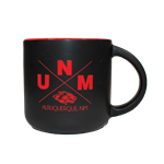 Neil Mug UNM ABQ Side Wolf Black/Red