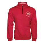 Men's League 1/4 Zip Jacket UNM Seal Red