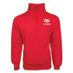 Men's MV 1/4 Zip Jacket UNM Alumni Red