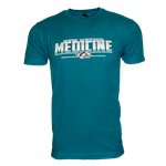 Men's CI Sport T-shirt NM Medicine Side Wolf Teal