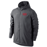 Men's Nike Jacket Windbreaker UNM Interlocking Gray