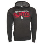 Men's CI Sport Hood UNM Dental Old School Lobo Gray