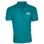 Men's Holo Polo UNM Interlocking Turqouise