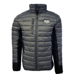 Men's Clique Puffer Jacket UNM Interlocking Gray