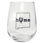 Neil Wine Glass NM Home Lobo Shield