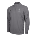 Men's Nike 1/4 Zip Jacket NM Lobo Shield Gray
