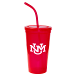Neil Tumbler UNM Interlocking Red