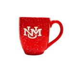 LXG Mug UNM Interlocking Logo Speckled Red