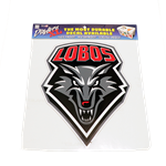 "Dizzlers XL 12"" Decal Lobo Shield"