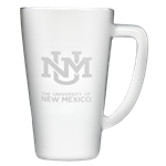 15oz Fan Mug UNM Interlocking White