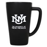 15oz Fan Mug UNM Interlocking Black