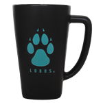15oz Fan Mug Lobos Paw Black