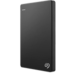 SEA External Hard Drive Slim 1TB Black