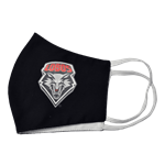 Reusable Cloth Face Mask Lobo Shield Black
