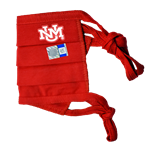 Reusable Cloth Face Mask UNM Red