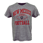 Men's Champion T-shirt NM Football Lobo Shield Gray