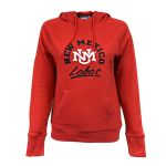 Women's Champion Hood NM Lobos Interlocking Red