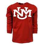 CI Sport Long Sleeve T-Shirt UNM Interlocking Red