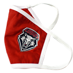 Reusable Cloth Face Mask Lobos Shield Red