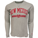 Men's League Long Sleeve T-Shirt NM Interlocking Gray