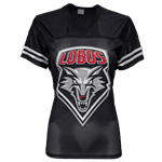Women's CIS Jersey T-Shirt Lobo Shield Black & Red
