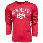 Men's League Long Sleeve NM Interlocking Red