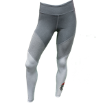 Women's ZooZatZ Leggings Lobos Shield Grey
