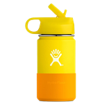 Hydro Flask 12oz Kids Wide Mouth Bottle With Straw Lid - Four Colors