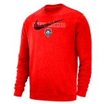 "Men's Nike Crew Lobos Shield ""Nuevo Mexico"" Red"