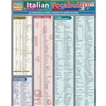 BARCHARTS ITALIAN VOCABULARY