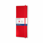 MOLESKINE SMART DOTTED NOTEBOOK RED HARD COVER