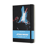MOLESKINE STAR WARS LIGHTSABERS RULED LARGE NOTEBOOK HARD COVER