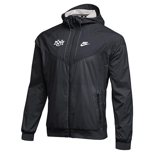 7f69868a6 UNM Bookstore - Men's Nike Windbreaker Jacket UNM Logo Gray