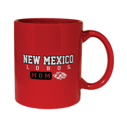 Neil Mug NM Lobos Mom Side Wolf Red