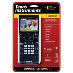 Texas Instruments TI-nspire CX Graphing Calculator & Software Ti Calculator  Nspire Cx Graphing