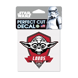 WinCraft Decal Yoda Lobos