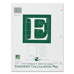 "Roaring Spring Filler Engineering Green 8.5""x11"" 100CT"