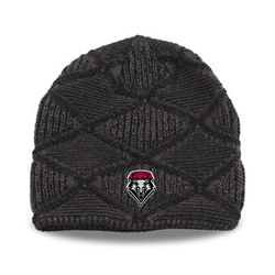 The Game Slouch Beanie UNM Shield Grey