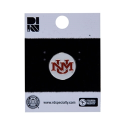 R&D Lapel Pin UNM Interlocking Logo