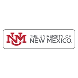 SDS Decal UNM Interlocking Logo The University of New Mexico