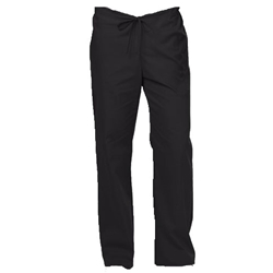 Unisex Scrub Pants Black