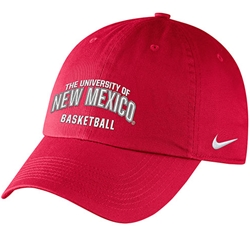 UNM Bookstore - Nike Cap University of New Mexico Basketball Red bae2268d0f9
