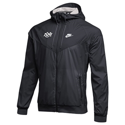 abf44ebc4dae UNM Bookstore - Men s Nike Windbreaker Jacket UNM Logo Gray
