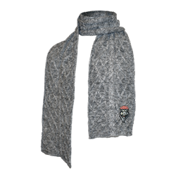 Zoozatz Scarf Lobos Shield Heather