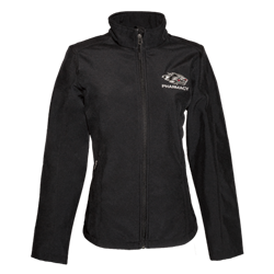 Women's CI Sport Zip Soft Shell Jacket Pharmacy Side Wolf Black