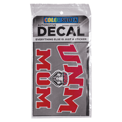 CDI Decal UNM Mom Lobo Shield