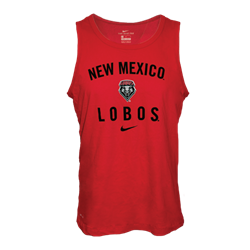 Men's Nike Tank NM Lobos Lobo Shield Red